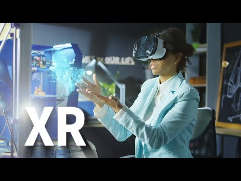 XR - The Merging of Augmented Reality AR, Virtual Reality VR and Mixed Reality in 2020
