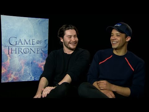 """Game of Thrones"" Season 7 interview with Daniel Portman & Jacob Anderson"