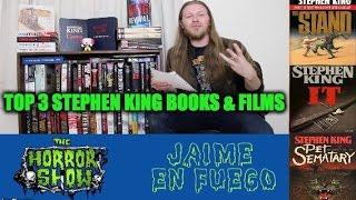 Stephen King: TOP 3 Books & Films - Hail To Stephen King EP6