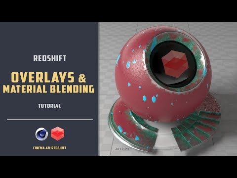 Surface Imperfections and Material blending in Redshift [CINEMA 4D TUTORIAL]