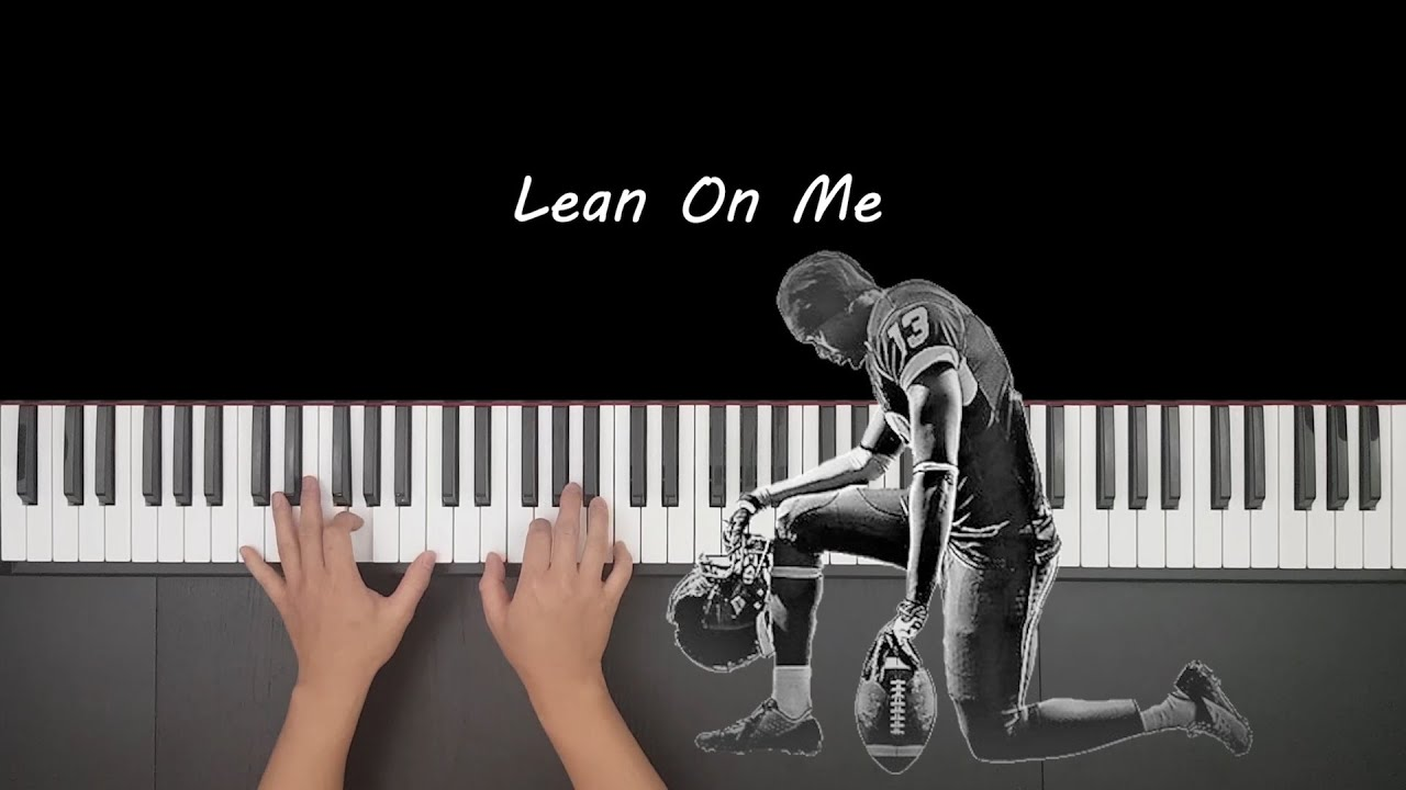 Bill Withers - Lean On Me Piano Cover by Mark Piano