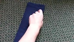How to Fold T-Shirts (US Navy Recruit Training)