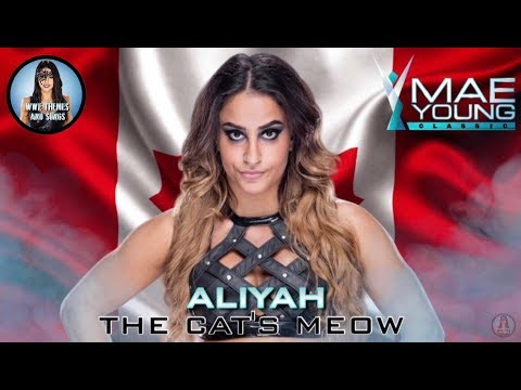 Aliyah - The Cat's Meow (Official WWE MYC Qualifying Match Theme)