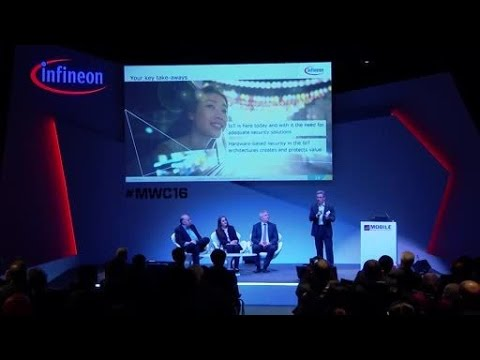 Infineon IoT Security Power Hour @ MWC 2016