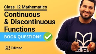 Continuous and Discontinuous Functions | Solved Questions | Class 12| Maths FSC JEE MAINS ADVANCE