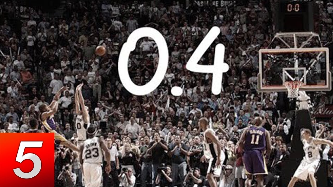 Best Game Winners Of NBA History - Extreme NBA Finals