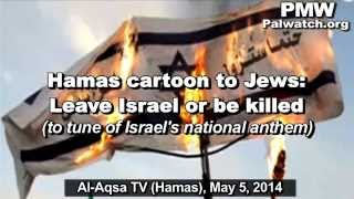 "Hamas TV song ""The End of Hatikva"" anticipates Jews"