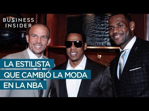 Conoce a la estilista que convirtió a LeBron James en un icono de la moda y extendió su influencia al resto de la NBA