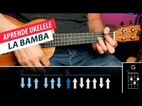 How to play La Bamba on Ukulele Easy lesson!