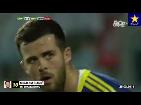 Miralem Pjanic - 10 golova za reprezentaciju BiH (2010.-2016.)