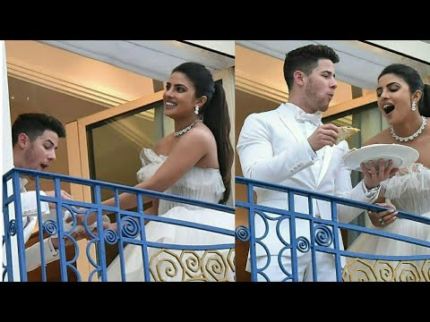 Nick Jonas And Priyanka Chopra Fighting Over A Pizza🍕 At Cannes 2019 | Cannes 2019 | Nickyanka