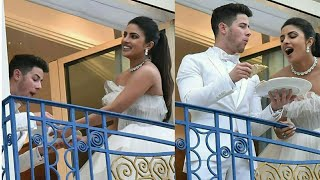 Nick Jonas And Priyanka Chopra Fighting Over A Pizza🍕 At Cannes 2019 | Cannes 2019 | Nickyanka