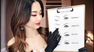 [ASMR] Eyelash Extensions ~ Personal Attention