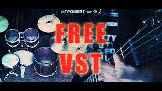 Download FREE VST - MT Power Drum Kit MP3 song and Music Video