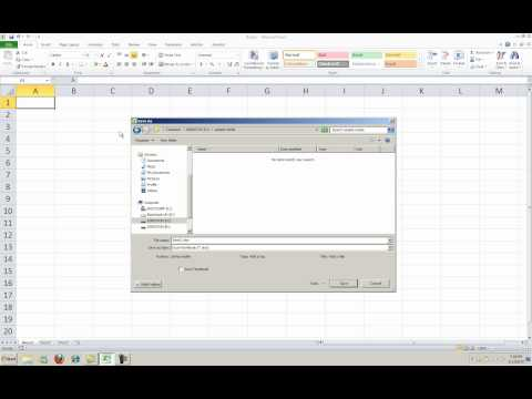 New Features in Excel 2010 - The File Tab