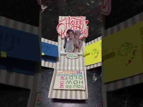 DIY: Birthday Gift for fellow k-pop fans