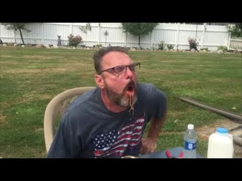 WARNING GRAPHIC!! PUKING SURSTROMMING STINKY FISH CHALLENGE WITH A RED HABANERO PEPPER!!