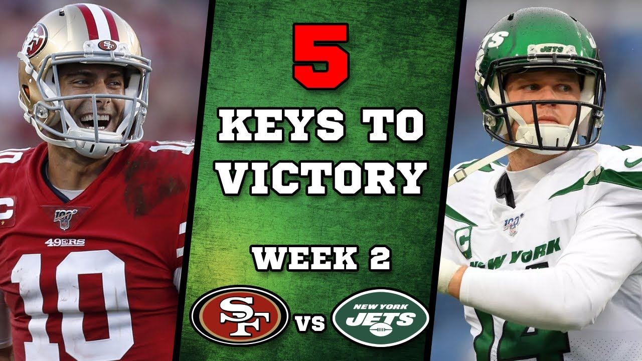 NFL Week 2: How to watch 49ers vs. Jets: TV, streaming and game ...
