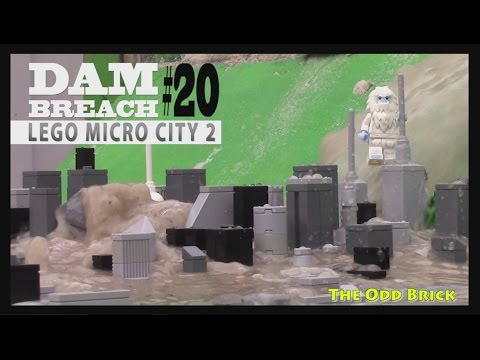 Download Lego Build Timelapse Building The Microcity From Dam Breach