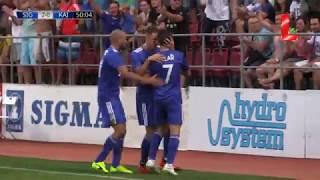 Sigma Olomouc 2 - 0 Kairat (09.08.2018 // by LTV)