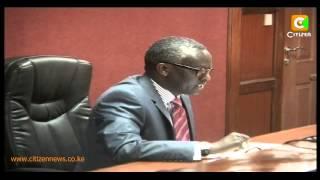 Kidero, Shebesh Case Stopped