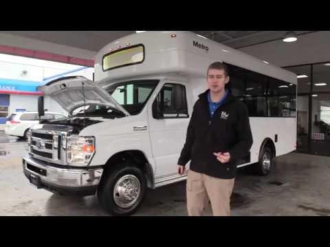 2016 Winnebago Metro Link 14 Passenger Shuttle Bus - S12280