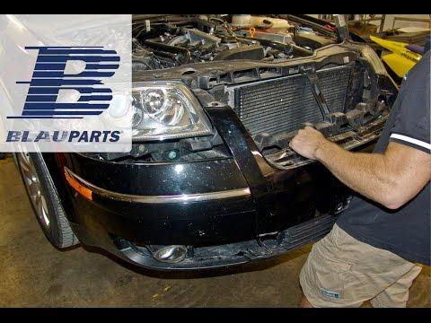 VW Passat Front Bumper Removal Instructions for 2.8L 30 Valve Engine
