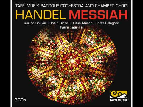 Handel Messiah, Chorus: Their sound is gone out