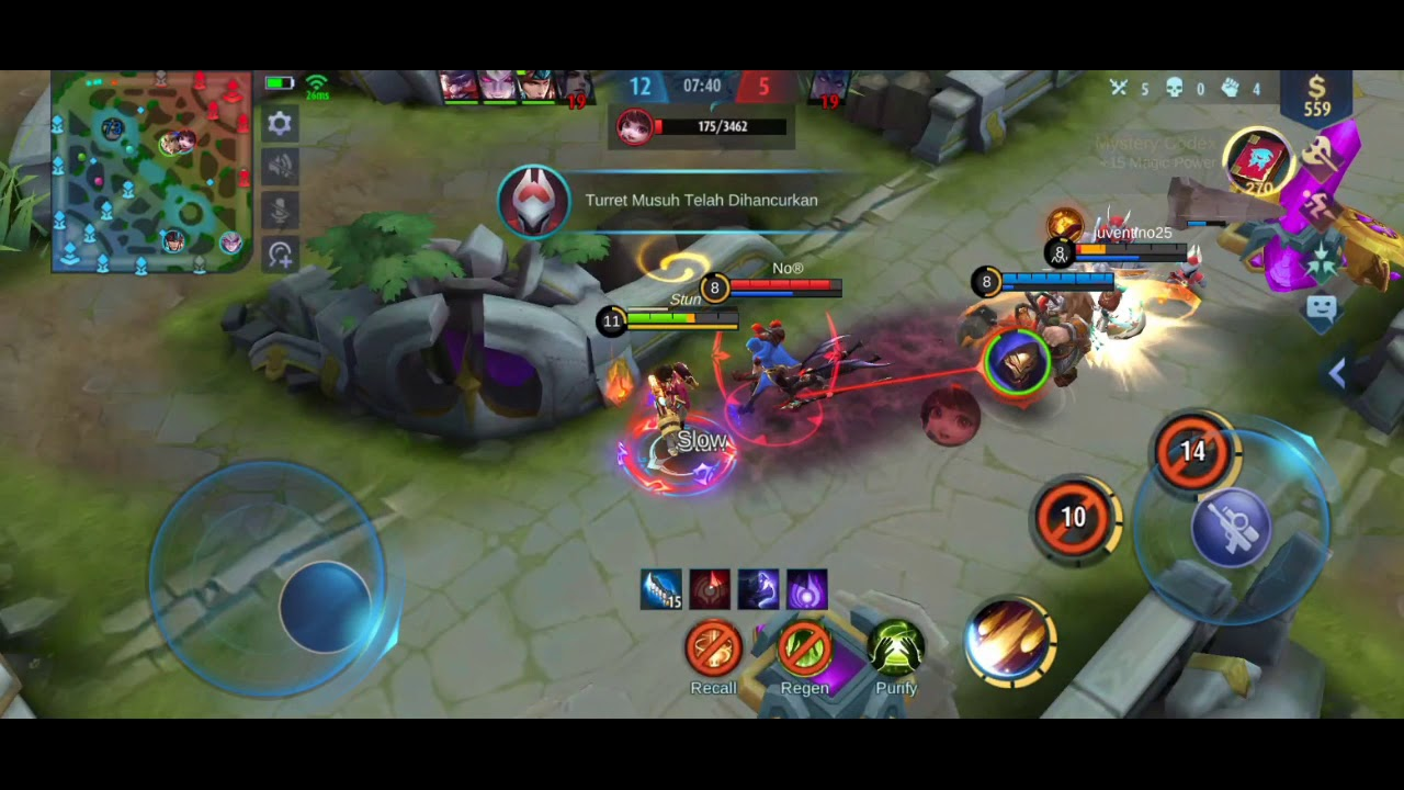 KIMMY HARD CARRY. MOBILE LEGEND INDONESIA