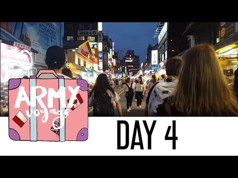 【ARMY Voyage】 Day 4 - Hongdae︱KOREA Vlog.