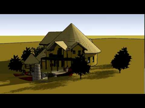 Zambian vernacular architecture, proposed residence
