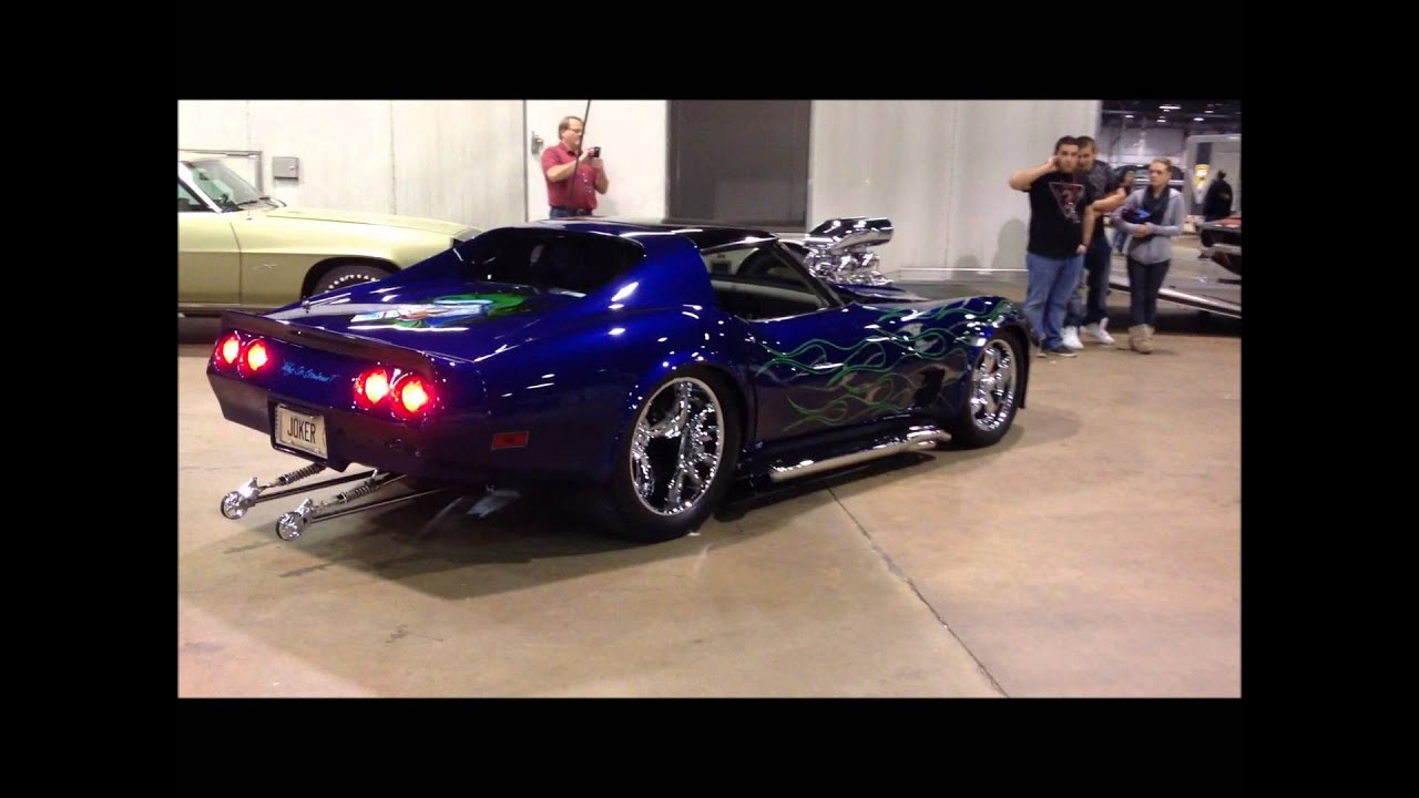 Crazy Insane Blown Corvette Wicked Sound Youtube