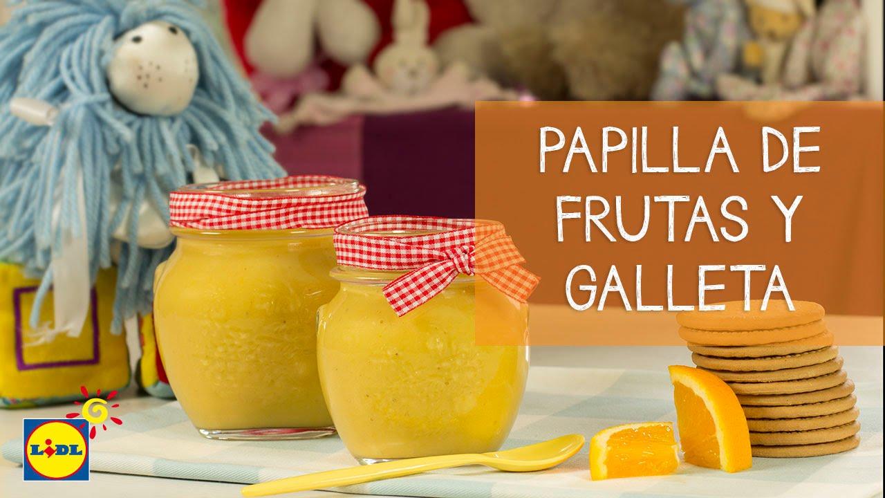recetas papillas frutas para bebes thermomix