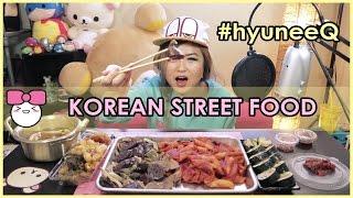 KOREAN STREET FOOD | MUKBANG