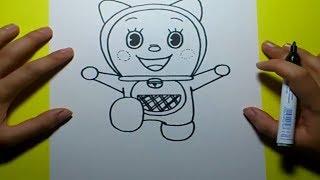 Como dibujar a Dorami paso a paso - Doraemon | How to draw Dorami - Doraemon