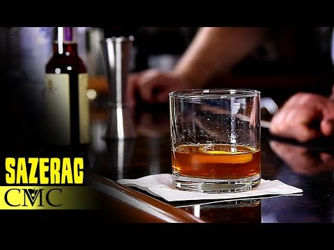 How To Make The Sazerac  Classic Cocktails