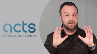 """ACTS 5 - """"A New Way of Living"""" - Sunday, May 9, 2021"""