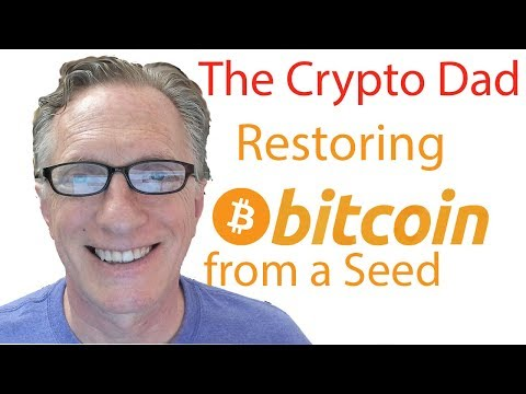 How To Restore A Bitcoin Wallet From A Seed (Blockchain.com)