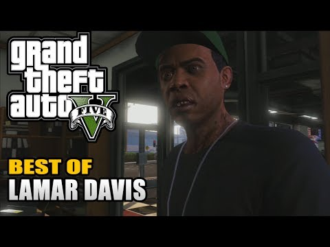 GTA 5  Best of Lamar Davis  Lamar Davis Quotes Compilation