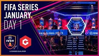 Gfinity FIFA Series January LQE - Day 1