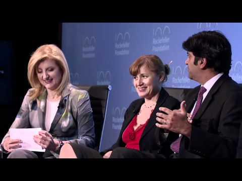 Rockefeller Foundation Innovation Forum 2012: Plenary Panel Moderated by Arianna Huffington