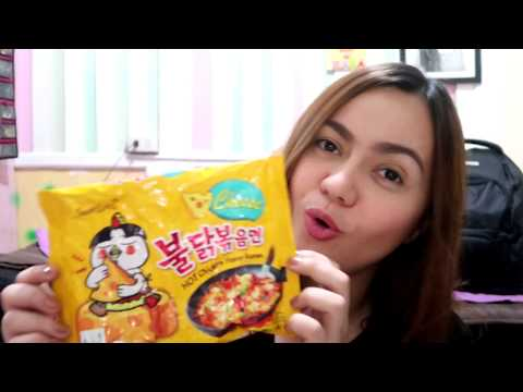 SAMYANG SPICY NOODLE CHALLENGE (CHEESE FLAVOR)
