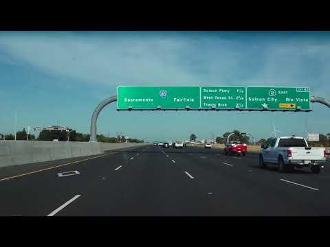 Driving from San Francisco, CA to Reno, NV via I80