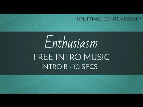 free intro music upbeat feel good music 39 enthusiasm 39 intro b 10 seconds youtube. Black Bedroom Furniture Sets. Home Design Ideas