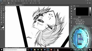 OC Drawing sketch (Time Lapse) Part 1 - Eevy & Clea