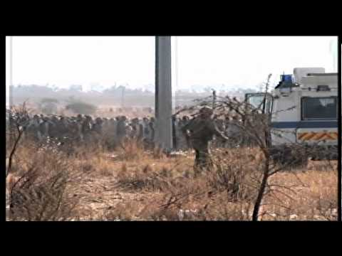 Unseen footage of Marikana shooting