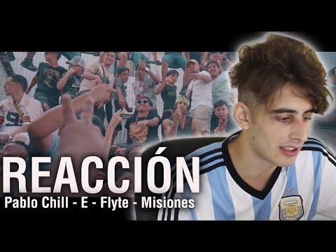 REACCIÓN | Pablo Chill - E x El Futuro Fuera De Orbita | Flyte (Official Video) | Misiones