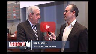Entrevista Juan Castellet, presidente CETM Multimodal