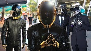 Daft Punk Helmet Cosplay Compilation Dance