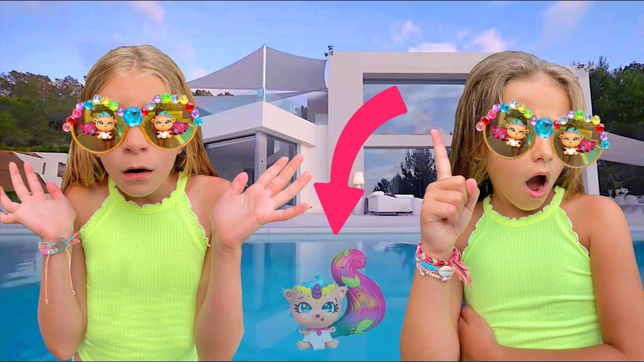 Giele y Claudia no encuentran sus cosas de verano Beasties Las Ratitas